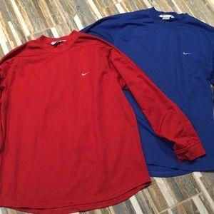 Nike Athletic Men's Long Sleeve Shirts